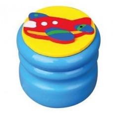 Шкатулка для молочных зубов Viga Toys Зубная фея Самолет, синий (53911)