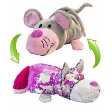 Мягкая игрушка ZooPrяtki 2 в 1 Кот и Мышь, 30 см (516IT-ZPR)