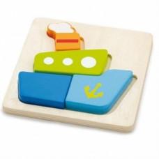 Пазл Viga Toys Кораблик (50171)