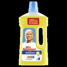 Моющая жидкость для полов и стен Mr. Proper Лимон, 1 л