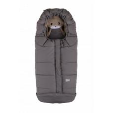 Зимний конверт Nuvita 9605 Cuccioli Junior Кролик, меланжевый серый (NV9605CUCCIOLOJRMELGR)