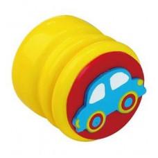 Шкатулка для молочных зубов Viga Toys Зубная фея Автомобиль, лимонный (53911)