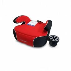 Автокресло-бустер Welldon Penguin Pad, черный с красным (PG08-P02-003)