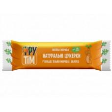 Натуральные конфеты Фрутім Яблоко и Морковь, 50 г