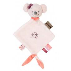 Мягкая игрушка-обнимашка Nattou Doodoo Мышка Валентина (424134)