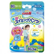 Подгузники-трусики для плавания для мальчиков Goo.N Big XL (12-20 кг), 3 шт.