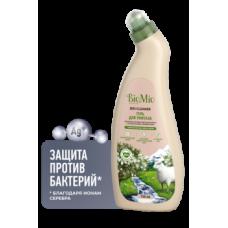 Антибактериальное чистящее эко средство для туалета BioMio Bio-Toilet Cleaner с эфирным маслом чайного дерева, концентрат, 750 мл