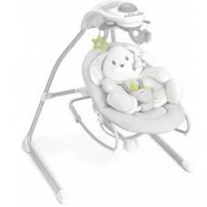 Кресло-качалка CAM Gironanna Evo, с музыкой, серый (S347-C226)