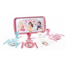 Набор посуды Smoby Disney Princess Полдник, с подносом, 21 предмет (310575)
