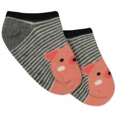 Детские антискользящие носки Свинка
