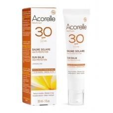 Спрей солнцезащитный органический Acorelle SPF 30, 100 мл