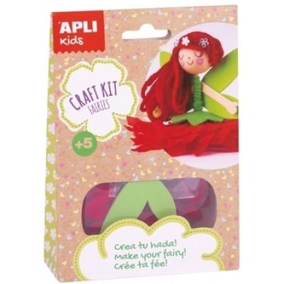 Комплект для рукоделия Apli Kids Кукла (000017145)