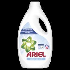 Жидкий стиральный порошок Ariel для чувствительной кожи, для белых и цветных тканей, 2,2 л