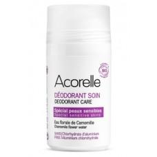 Органический роликовый дезодорант Acorelle Ромашка и миндаль, для чувствительной кожи, 50 мл