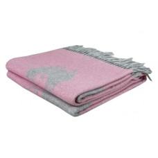 Плед LightHouse Happy Sheep, 200х140 см, розовый (550323)