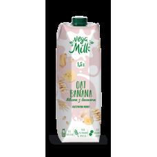 Овсяный напиток Vega Milk с бананом, 0,95 л
