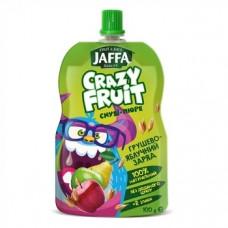 Смузи-пюре Jaffa Crazy Fruit Грушево-яблочный заряд, 100 мл
