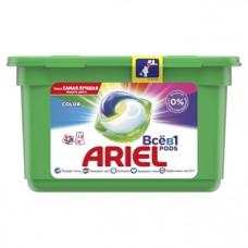 Капсулы для стирки Ariel Pods Все-в-1 Color, для цветных тканей, 12 шт.