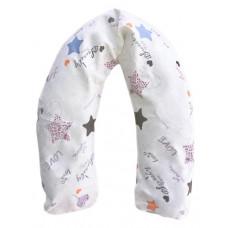 Наволочка на подушку Мамин Дом Звезды, 160 см, белый (2055)