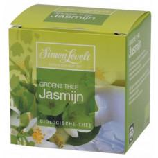 Органический зеленый чай Simon Lévelt Жасмин, в пакетиках, 10х1,5 г