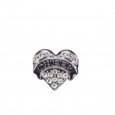 Эмодзи Silver cheer heart