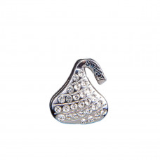 Эмодзи Silver plated kiss