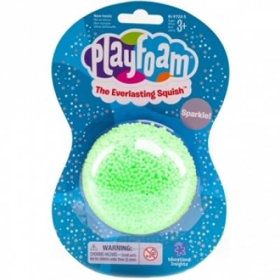 Шариковый пластилин Educational Insights Зеленые Мегаблестки (EI-9722-G)