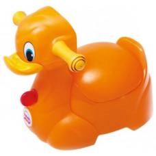 Музыкальный горшок OK Baby Quack, оранжевый (37074530)