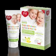 Зубная паста Splat Baby Защита от бактерий и кариеса Яблоко-Банан, 40 мл