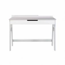 Письменный стол Верес Manhattan, белый с серым (46.32.2.17)