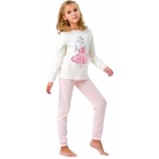 Пижама Smil Заветная мечта, интерлок, р.80, молочный (104256)