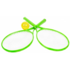 Игровой набор ТехноК для игры в теннис, зеленый (2957)
