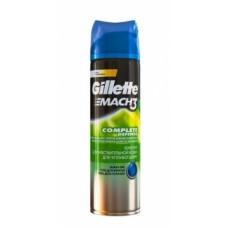 Гипоаллергенный гель для бритья Gillette Mach 3 Sensitive, 200 мл