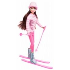 Набор с куклой Ася Зимняя красавица, брюнетка, 28 см (35130)