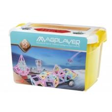 Магнитный конструктор Magplayer, 95 элементов (MPT2-95)