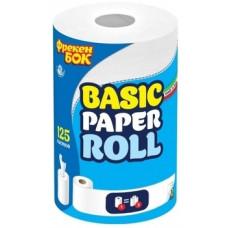 Двухслойные кухонные бумажные полотенца Фрекен Бок с центральным извлечением, 1 рулон, 125 листов