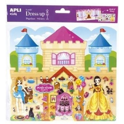 Набор наклеек Apli Kids Королевский замок, большой (16307)