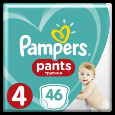 Подгузники-трусики Pampers Pants 4 (9-15 кг), 46шт.