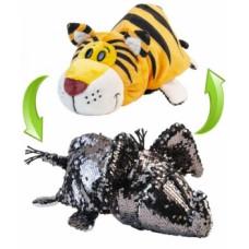 Мягкая игрушка ZooPrяtki 2 в 1 Слон и Тигр, 30 см (517IT-ZPR)