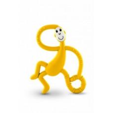 Игрушка-прорезыватель Matchstick Monkey Танцующая Обезьянка, желтый (MM-DMT-006)