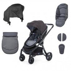 Набор текстиля Chicco для коляски Urban, темно-серый (79168.99)