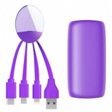 Внешний аккумулятор Xoopar Weekender, фиолетовый (XP61068.18A)