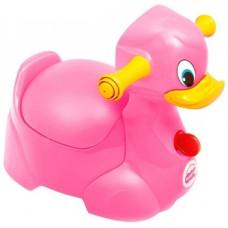 Музыкальный горшок OK Baby Quack, малиновый (37076630)