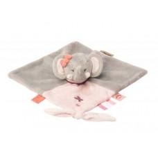 Мягкая игрушка-обнимашка Nattou Doodoo Мини Слоник Адель (424165)