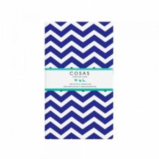 Простыня Cosas Зигзаг, бязь, 215х155 см, синий