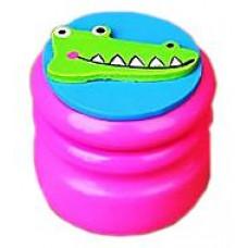 Шкатулка для молочных зубов Viga Toys Зубная фея Крокодил, розовый (53911)