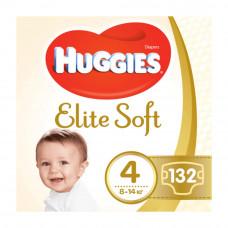 Подгузники Huggies Elite Soft, размер 4, 8-14 кг, 132 шт