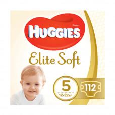 Подгузники Huggies Elite Soft, размер 5, 12-22 кг, 112 шт