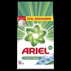 Стиральный порошок Ariel Автомат Горный родник, для белых тканей, 6 кг
