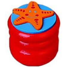 Шкатулка для молочных зубов Viga Toys Зубная фея Звезда, алый (53911)